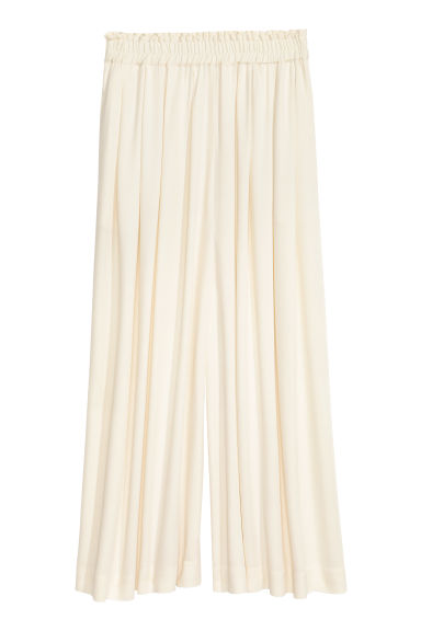 Culottes - Natural white - Ladies | H&M CN 1