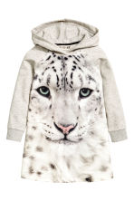 Sweatshirt dress - Grey marl/WWF - Kids | H&M CN 2