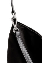 Shopper with a shoulder strap - Black - Ladies | H&M GB 3