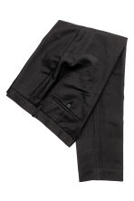 Pantaloni da completo Slim fit - Nero - UOMO | H&M IT 3