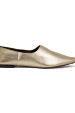 Slip-on loafers - Gold -  | H&M CN 3
