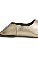Slip-on loafers - Gold -  | H&M CN 4