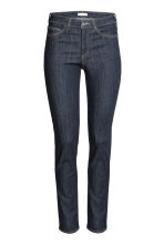 Slim Regular Jeans - Dark denim blue - Ladies | H&M CN 2