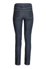 Slim Regular Jeans - Dark denim blue - Ladies | H&M CN 3