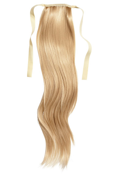 Fake ponytail - Blonde - Ladies | H&M CN 1