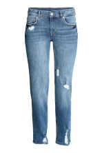 Relaxed Slim Jeans - Dark denim blue - Ladies | H&M CN 2