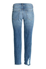 Relaxed Slim Jeans - Dark denim blue - Ladies | H&M CN 3