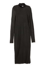 Abito in jersey a lupetto - Nero - DONNA | H&M IT 2