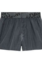 2-pack boxer shorts - White/Dark grey - Men | H&M CN 2