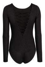 Laced body - Black - Ladies | H&M CN 3