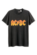 T-shirt with a print motif - Black/AC/DC -  | H&M CN 2