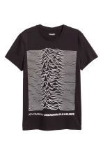 T-shirt with a motif - Black/Joy Division - Men | H&M CN 2