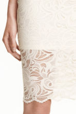Gonna in pizzo - Bianco naturale - DONNA | H&M IT 3