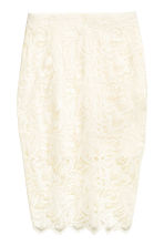 Gonna in pizzo - Bianco naturale - DONNA | H&M IT 2