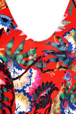 Patterned body - Red/Floral - Ladies | H&M CN 4
