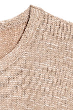 Jacquard-knit jumper - Beige - Men | H&M CN 3