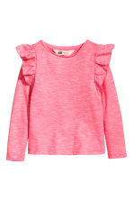 Frilled top - Light pink - Kids | H&M CN 2