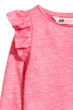Frilled top - Light pink - Kids | H&M CN 3