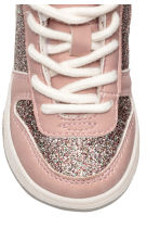 Pile-lined trainers - Light pink/Glittery - Kids | H&M CN 3