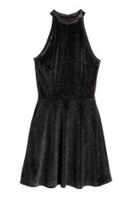 Glittery dress - Black/Silver - Ladies | H&M CN 2
