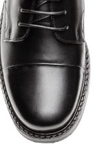 Leather Oxford shoes - Black - Kids | H&M CA 3