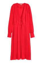 Calf-length dress - Red - Ladies | H&M CN 2