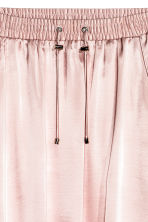 Satin skirt - Light pink - Ladies | H&M GB 3