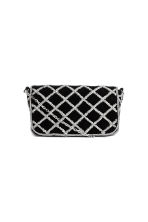 Beaded shoulder bag - Black - Ladies | H&M CN 1