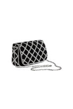 Beaded shoulder bag - Black - Ladies | H&M CN 2