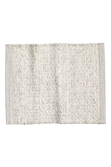 Glittery place mat - White/Silver - Home All | H&M CN 1