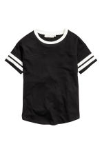 T-shirt - Black - Ladies | H&M CN 1