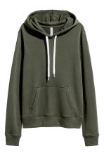 Hooded top - Dark Khaki - Ladies | H&M CN 2
