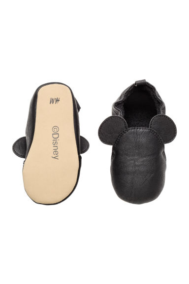 Slippers - Black/Mickey Mouse - Kids | H&M CN 1