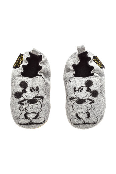 Slippers - Grey/Mickey Mouse - Kids | H&M CN 1