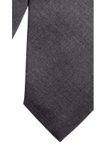 Wool-blend tie - Anthracite grey - Men | H&M CN 3