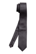 Wool-blend tie - Anthracite grey - Men | H&M 2