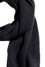 Cashmere scarf - Black - Men | H&M IE 2