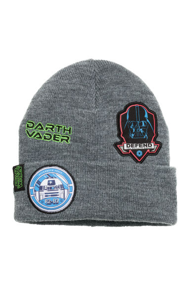 Knitted hat - Dark grey/Star Wars  - Kids | H&M CN 1