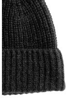 Cashmere hat - Black - Men | H&M CN 2