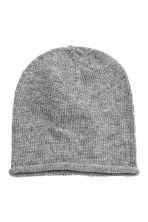 Knitted hat - Grey marl - Ladies | H&M CN 1