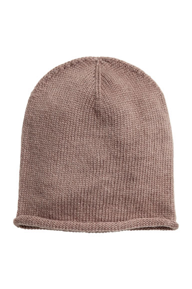 Knitted hat - Mole - Ladies | H&M CN 1