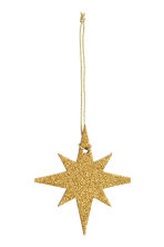 2-pack Christmas decorations - Gold - Home All | H&M CN 3