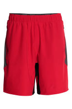 Sports shorts - Red - Men | H&M CN 2