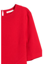 Crêpe dress - Red - Ladies | H&M GB 3