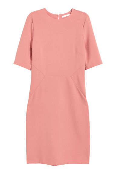 Crêpe dress - Vintage pink - Ladies | H&M CN 1