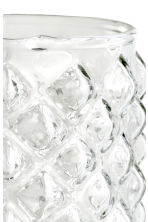 Glass tealight holder - Clear glass - Home All | H&M CN 3
