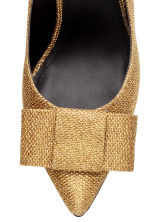 Glittery slingbacks - Gold - Ladies | H&M GB 3
