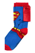 2-pack socks - Grey Batman/Superman - Kids | H&M CN 3