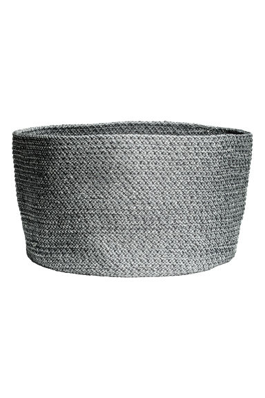 Glittery storage basket - Grey/Silver - Home All | H&M CN 1