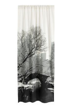 Photo-print curtain length - White/Landscape  - Home All | H&M CN 1